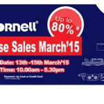 Cornell Warehouse Sales March 2015