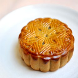 traditional mooncake 传统烘皮月饼