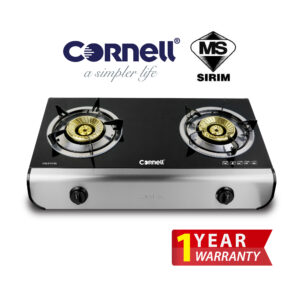 Cornell Glass Stove Double Burner