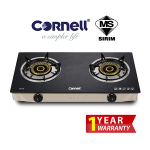 CGS-G122 Glass Stove Double Burner