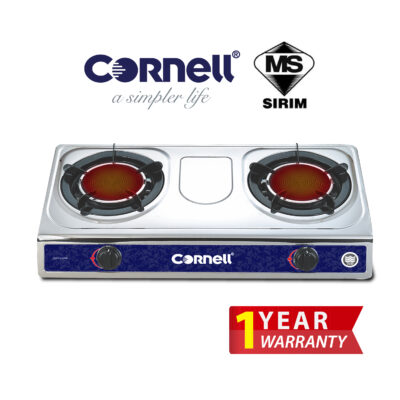 CGS-G150SIR Infrared Glass Stove Double Burner