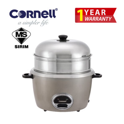 CRC-CP220SS SteamPro with Huge Multilayers SUS304 Cookwares (Individually Detachable) Rice Cooker