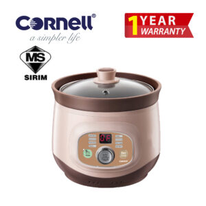 CSC-E20PC 2 Litre Purple Clay Digital Slow Cooker