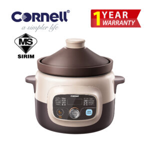CSC-E40PC 4 Litre Purple Clay Digital Slow Cooker