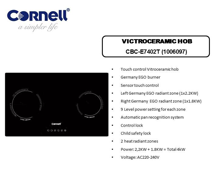 CBC-E7402T  VICTROCERAMIC HOB