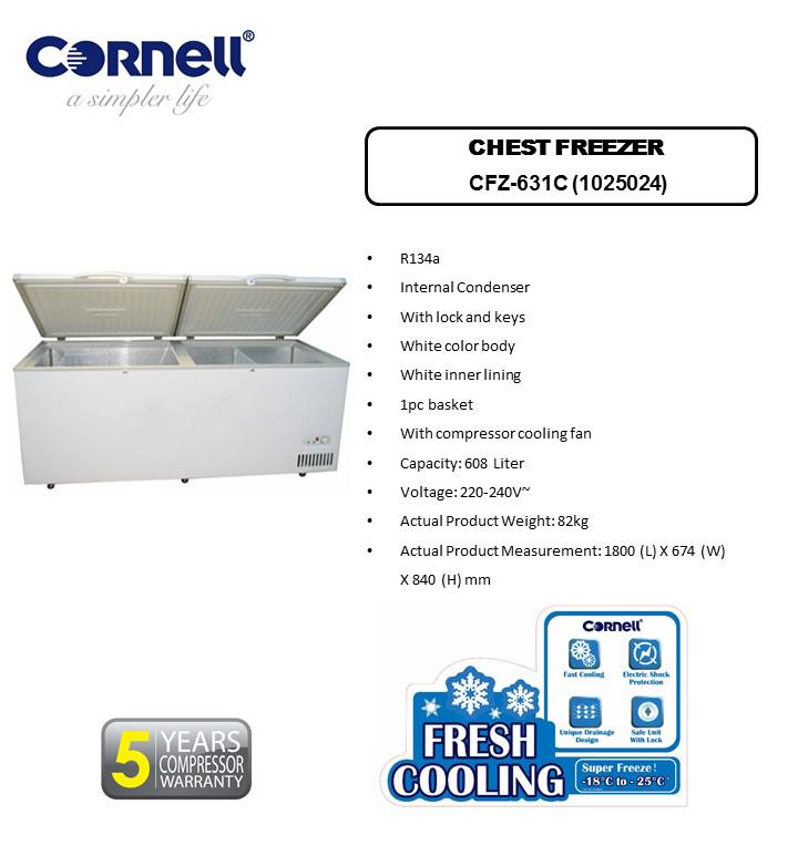 CFZ-631C Chest Freezer