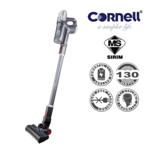 Cornell 2-In-1 Cordless Handheld & Stick Vacuum with Carpet Brush CVC-E2300CHC