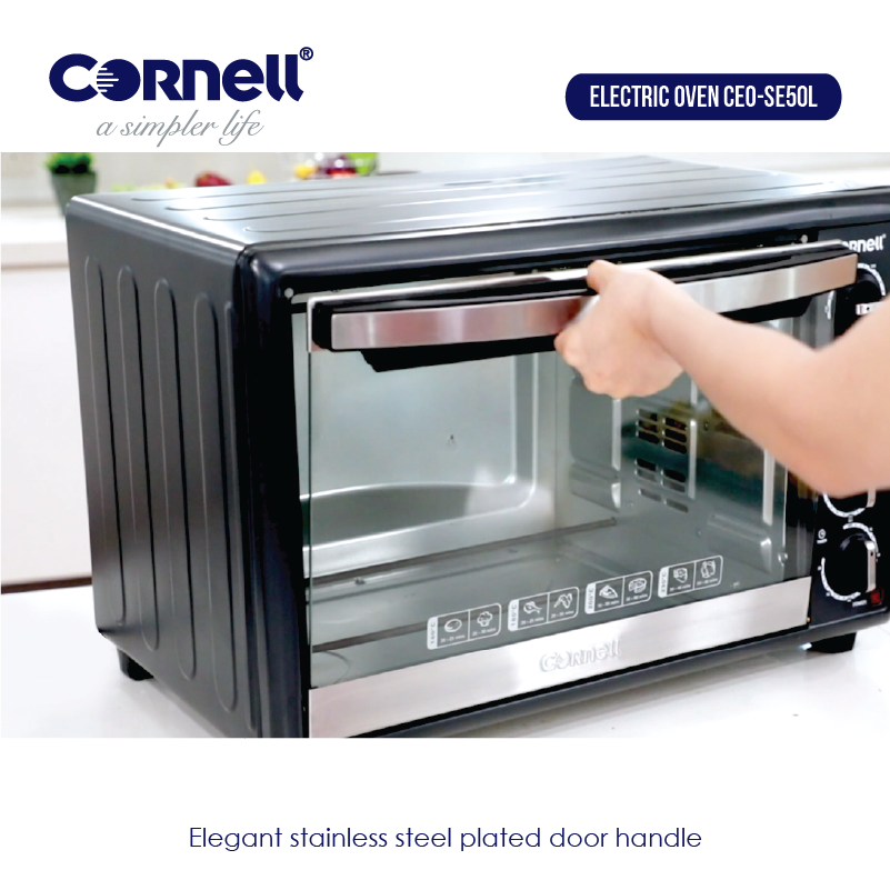 Stainless Steel Electric Oven 50L