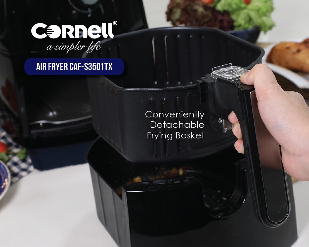 Cornell Air Fryer detachable frying basket